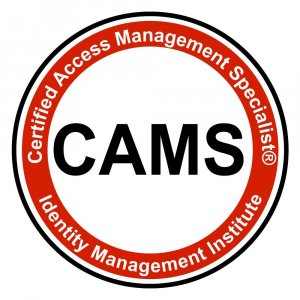 Certified Access Management Specialist (CAMS)