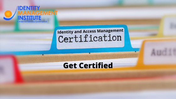 identity and access management certification