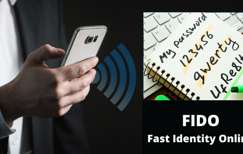 Fast Identity Online (FIDO) for passwordless authentication and system access