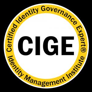 Certified Identity Governance Expert (CIGE)