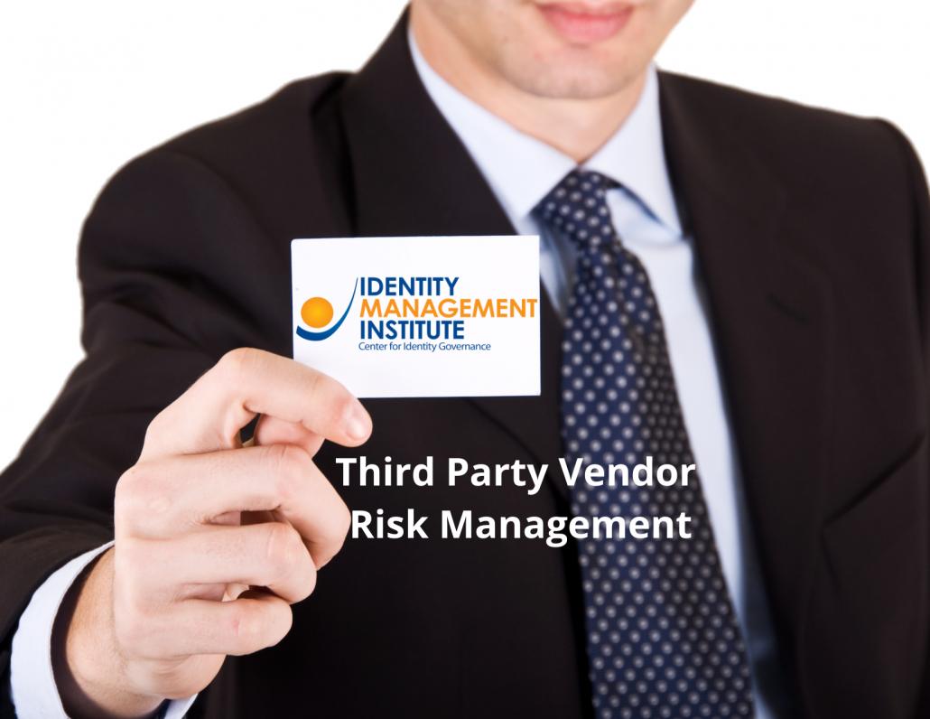 Third Party Vendor Risk Management
