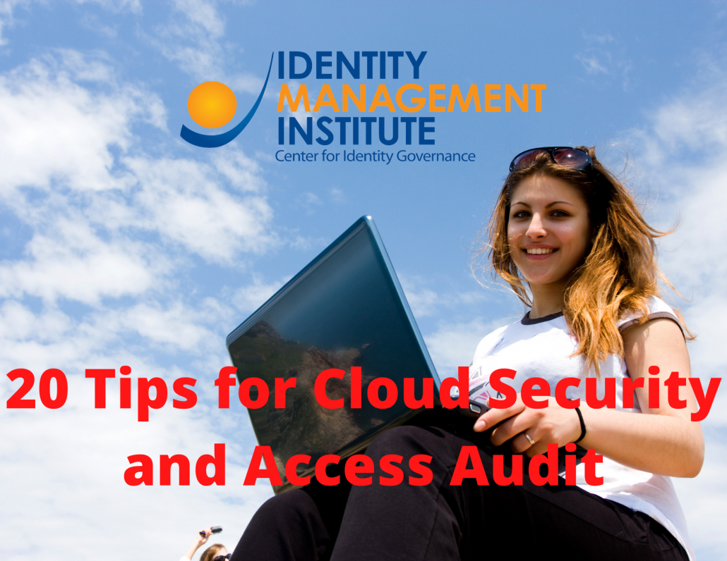 20 Tips for Cloud Security and Access Audit