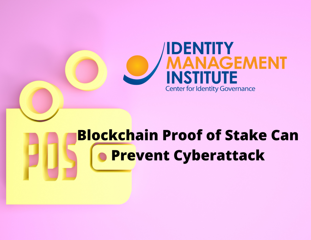 Blockchain Proof of Stake consensus can prevent cyberattack
